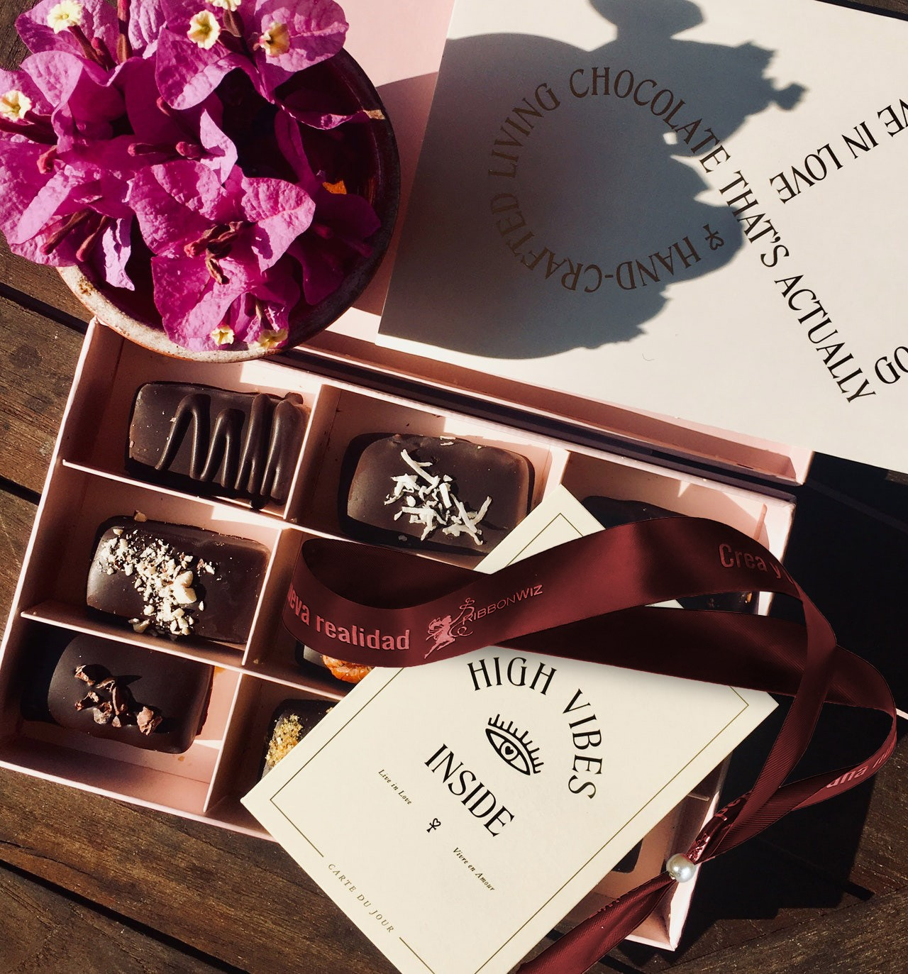 caja chocolate personalizada